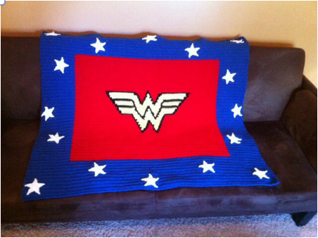 Wonder Woman Blanket